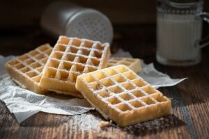 Oma's authentieke wafels